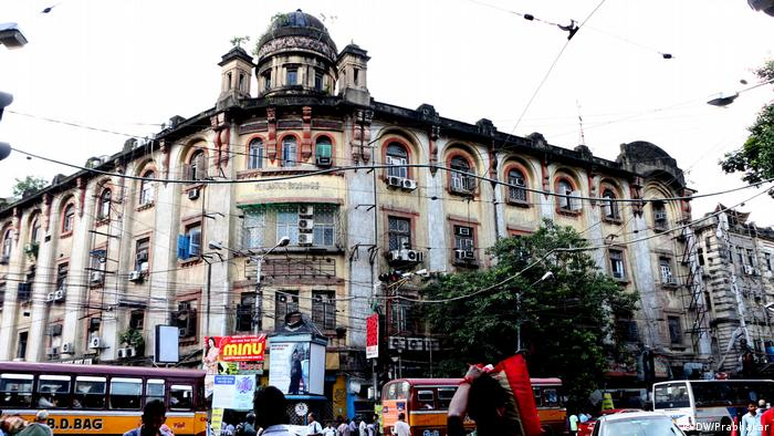 Indien Mercantile Building in Kalkutta (DW/Prabhakar)