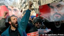 Iran 2008 Protest gegen Israel in Teheran (Imago/Zuma Press)