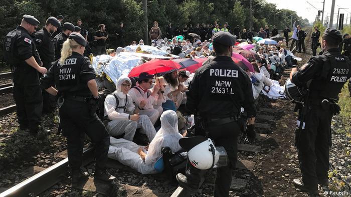 Deutschland Braunkohle Proteste (Reuters)