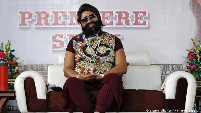 Gurmeet Ram Rahim (picture-alliance/AP Photo/T. Topgyal)
