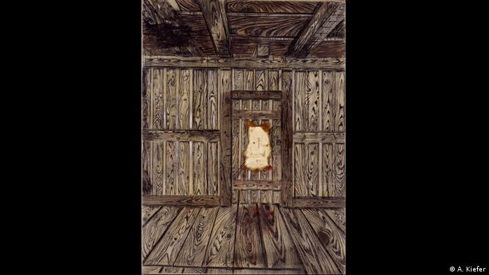Anselm Kiefer's The Door from 1973 (A. Kiefer)