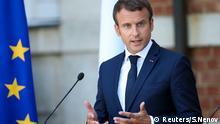 Emmanuel Macron in Bulgarien
