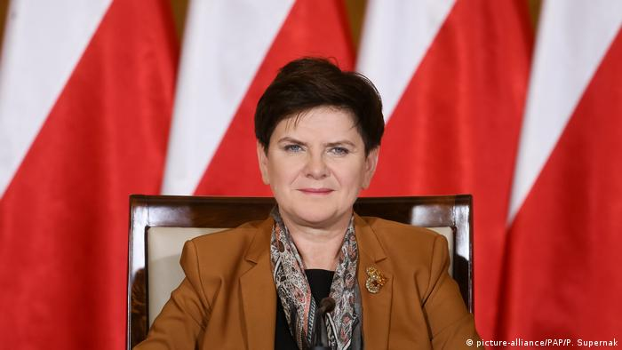 Beata Szydlo (picture-alliance/PAP/P. Supernak)