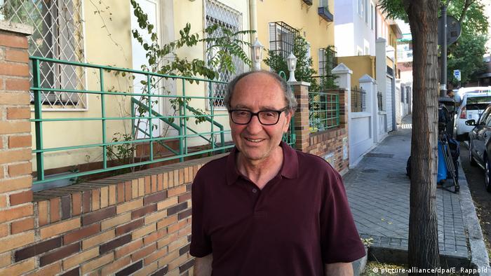 Spanien Madrid - Dogan Akhanli in der Türkei geborener Schriftsteller