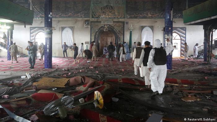 Afghanistan Moschee Anschlag Kabul