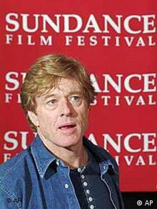 Schauspieler Robert Redford während des Sundance Filmfestivals
