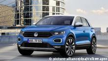 Второе место – VW T-Roc