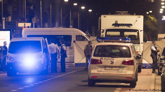 Mutmaßlicher Islamist bei Messerangriff in Brüssel erschossen