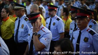 La policía catalana ha sido bien evaluada por su gestión de los ataques.