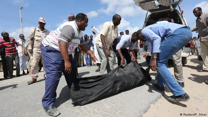 Somalia Mogadischu Attacke mit US Truppen
