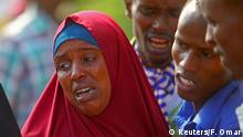 Mourning relatives of victims of attack by Somali forces, supported by US (Reuters/F. Omar)