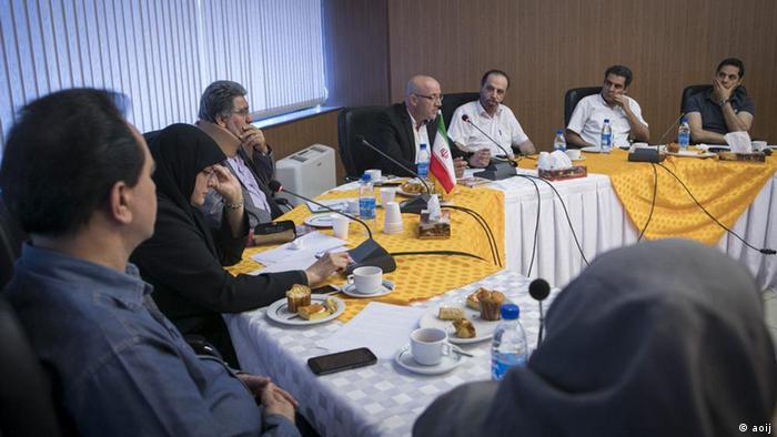Iran Teheraner Journalistenvereinigung (aoij)