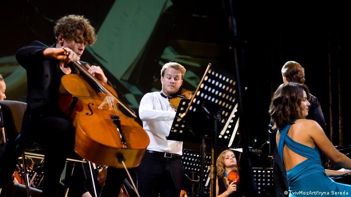 Російський віолончеліст, німецький скрипаль та українська піаністка