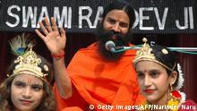 Indien Yoga Guru Swami Ramdev