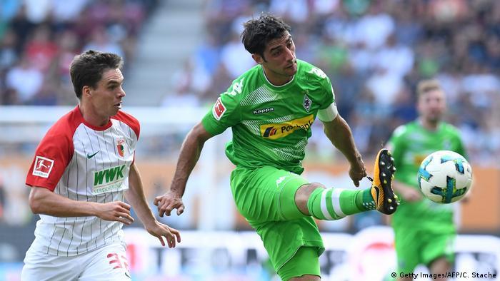 Bundesliga Augsburg Mönchengladbach Stindl (Getty Images/AFP/C. Stache)