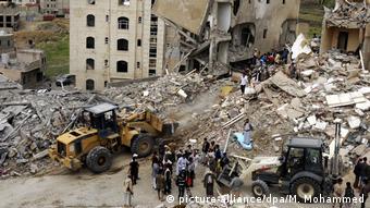 Airstrikes in Sanaa