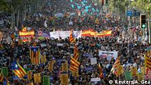 Spanien Barcelona Demonstration gegen Terror