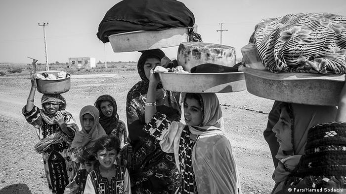 Iran Slum Alltag Sistan und Belutschistan (Fars/Hamed Sodachi)