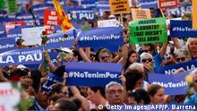 Barcelona Anti Terror Einheitsmarsch