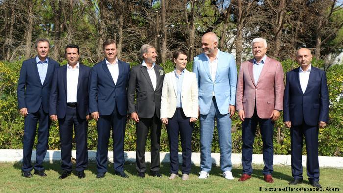 Albanien Durres Informelles Treffen Westbalkan-Regierungschefs