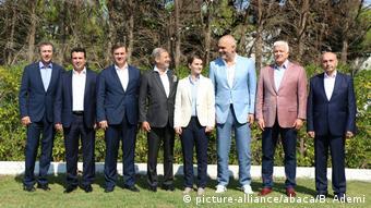 Albanien Durres Informelles Treffen Westbalkan-Regierungschefs (picture-alliance/abaca/B. Ademi)