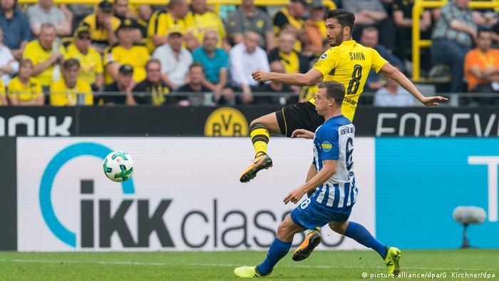 Bundesliga Borussia Dortmund - Hertha BSC Sahin (picture-alliance/dpa/G. Kirchner/dpa)