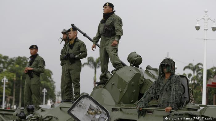 Venezuela Caracas Krise (picture-alliance/AP/R. Mazalan)