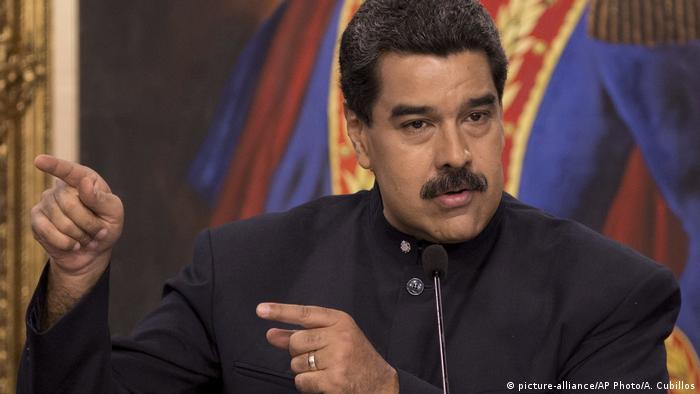 Nicolas Maduro (picture-alliance/AP Photo/A. Cubillos)