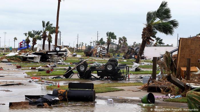 Наслідки урагану Харві на узбережжі Техасу