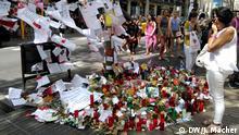 Demo gegen den Terror Barcelona