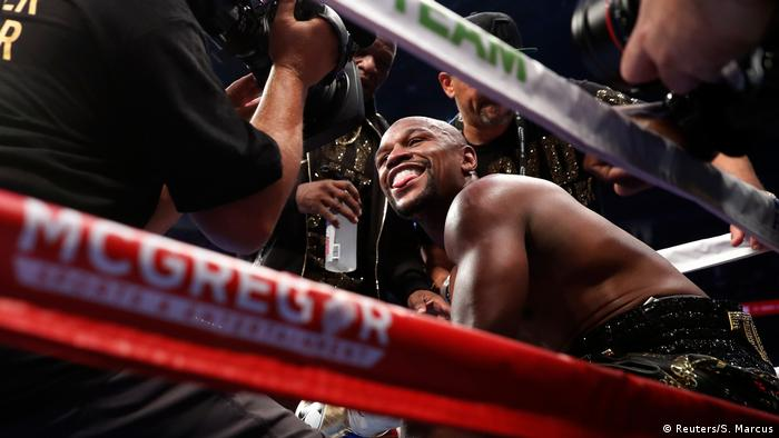 USA Las Vegas Boxkampf Floyd Mayweather Jr. - Conor McGregor (Reuters/S. Marcus)