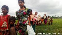 Myanmar Kämpfe Flucht Rohingyas nach Bangladesch