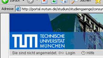 Screenshot der Website Technischen Universität München zu Consumer Affairs