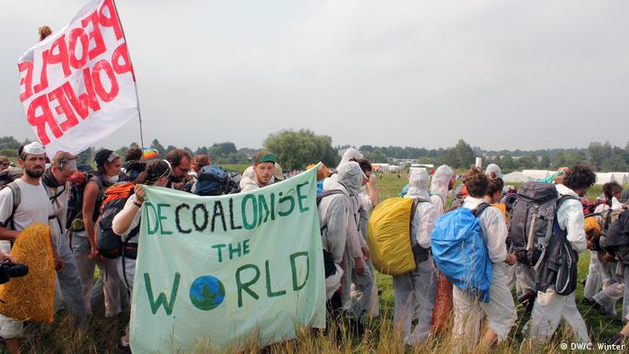 Coal protests Germany (DW/C. Winter)