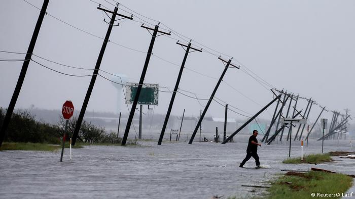 Hurricane Harvey in Texas