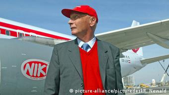 Niki Lauda Fly Niki Airlines (picture-alliance/picturedeskR. Newald)