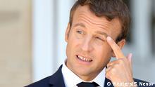 Emmanuel Macron Präsident Frankreich