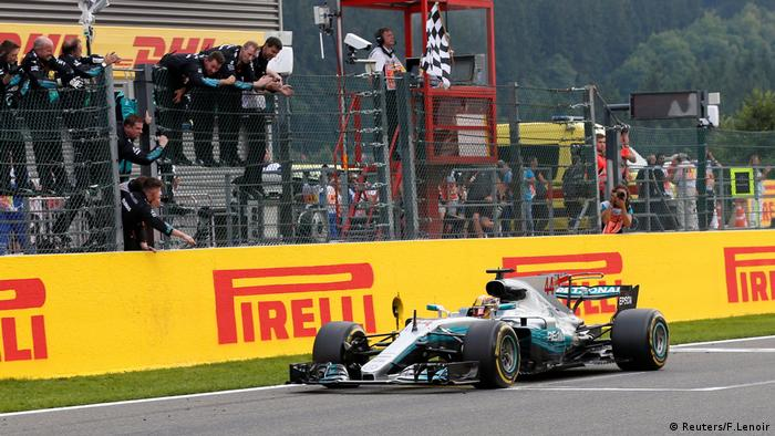 Formel 1 Belgien Lewis Hamilton Mercedes