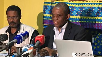Angola Pressekonferenz der Opposition zu den Wahlergebnissen | André Mendes de Carvalho