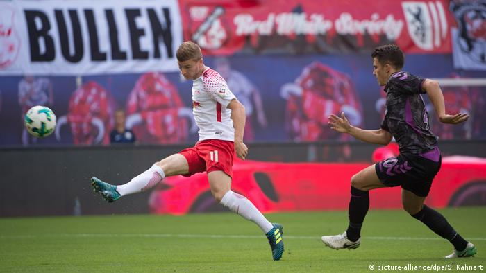 Bundesliga RB Leipzig - SC Freiburg Timo Werner (picture-alliance/dpa/S. Kahnert)