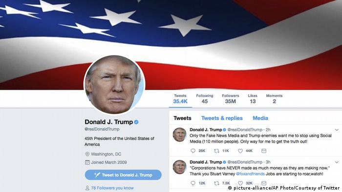 Don T Retweet Donald Trump And Don T Use His Language Americas North And South American News Impacting On Europe Dw 21 01 2018