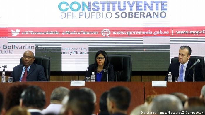 Venezuela Caracas Treffen (picture-alliance/Photoshot/Z. Campos/AVN)
