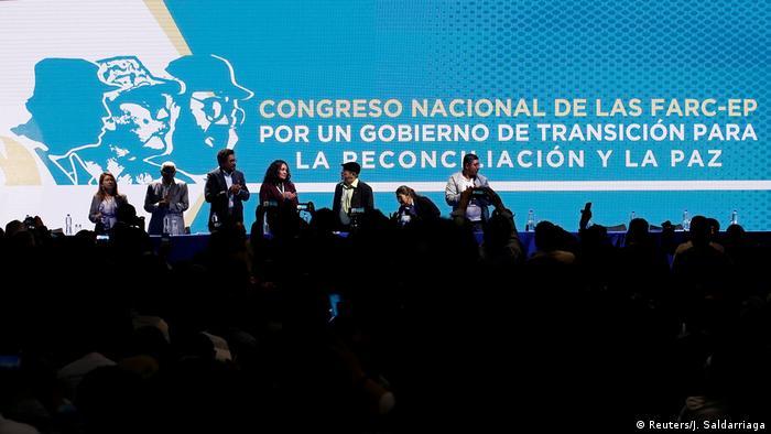Kolumbien Farc-Guerilla beginnt Kongress zur Parteigründung (Reuters/J. Saldarriaga)