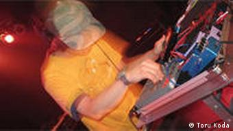 Der japanische Techno DJ Toru Koda