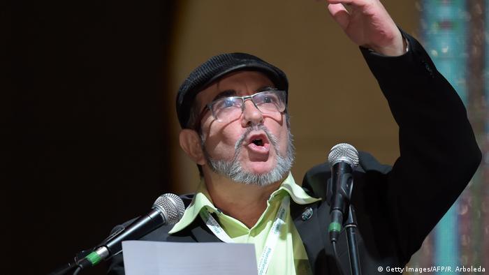 FARC leader Rodrigo Londono