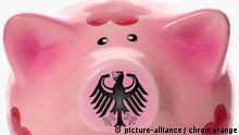Sparschwein mit Bundesadler