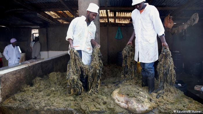 9. Bildergalerie Kenia Mülldeponie bei Nairobi (Reuters/B. Ratner)