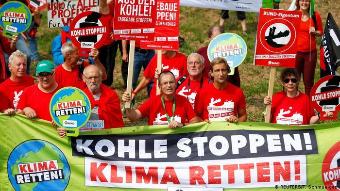 Deutschland | Proteste gegen den Abbau von Braunkohle