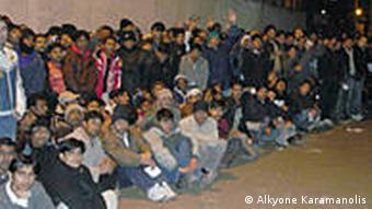 Αιτούντες άσυλο στην Αθήνα
