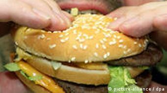 Symbolbild Fastfood von McDonalds